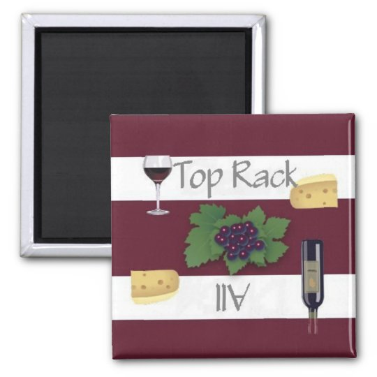 Clean or Dirty Wine Top Rack Dishwasher Magnet
