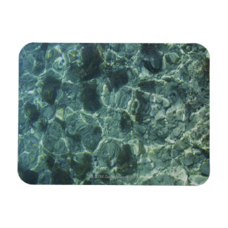 Clean Sea and Rocks, Crete, Greece Rectangular Photo Magnet