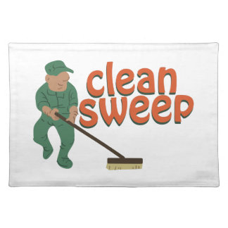 Clean Sweep Place Mat