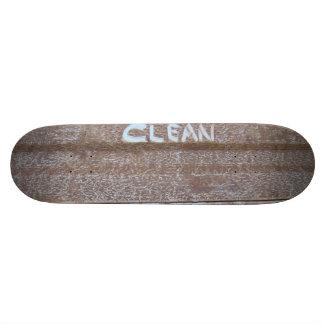 Clean 'Tailgate Talk' Skateboards