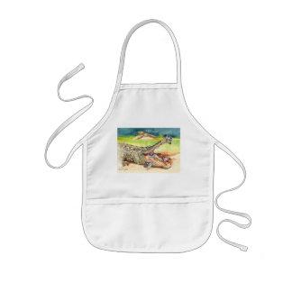 Clean teeth kids apron