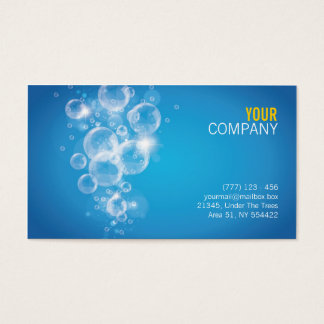 clean water success business card