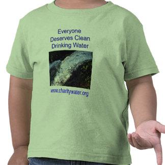 Clean Water toddler shirt