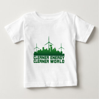 Cleaner Energy Cleaner World **SEATTLE** Baby T-Shirt