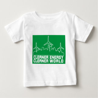 Cleaner Energy Cleaner World SEATTLE Baby T-Shirt