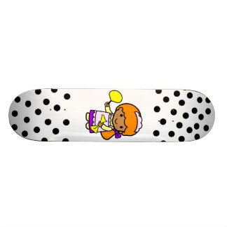 Cleaning Girl Skate Deck