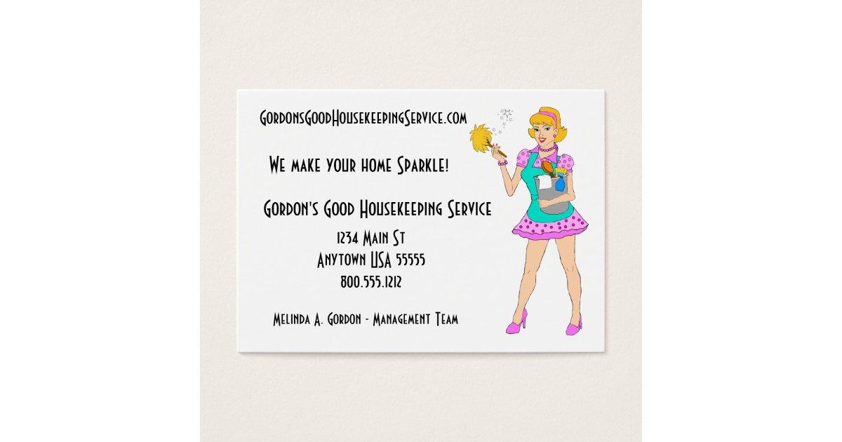 Amazing Maid Service Business Cards Ideas - Business Card Ideas ...