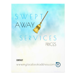 Cleaning Services Flyer - Janitorial