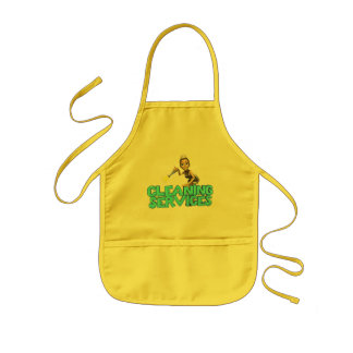 Cleaning Services Kids Apron
