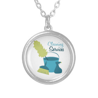 Cleaning Services Custom Necklace