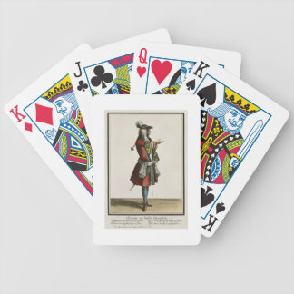Cleante Dressed as a Cavalier, fashion plate, c.16 Bicycle Playing Cards