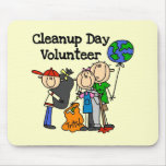 Cleanup Day Volunteer T-shirts and Gifts Mousepad