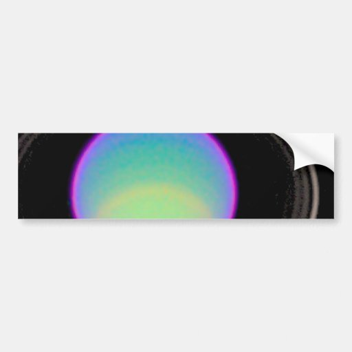 Clear and Hazy Gas Layers in Uranus' Atmosphere Bumper Stickers