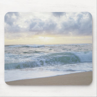 Clear Beach Day Mouse Mat