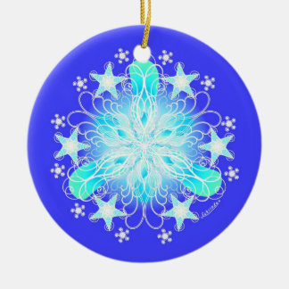 Clear & Bless the Air Christmas Ornament