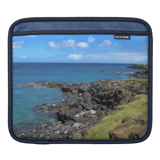 Clear Blue Ocean iPad Sleeves
