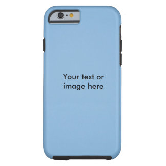 Clear blue sky photo template tough iPhone 6 case