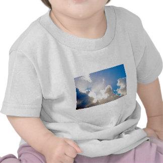 Clear Blue Sunburst Shirts