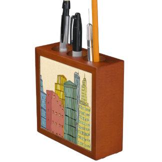 Clear Buildings Desk Organiser