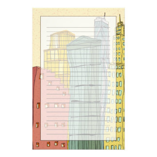 Clear Buildings Stationery