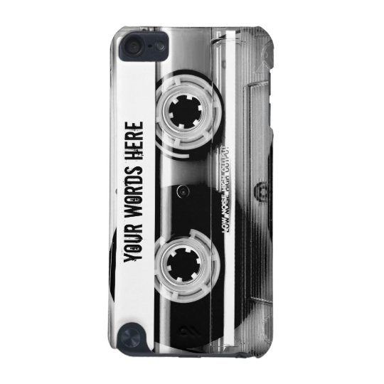 Clear Cassette Tape Personalised iPod Touch (5th Generation)