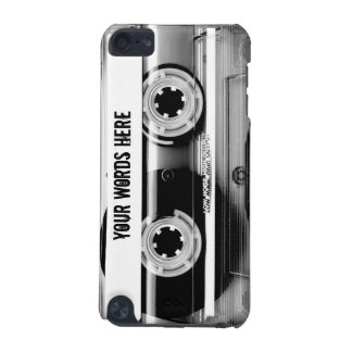Clear Cassette Tape Personalized iPod Touch (5th Generation) Cover