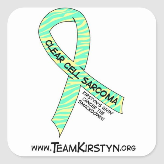Clear Cell Sarcoma Awareness Stickers