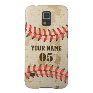 Clear Cool Vintage Baseball Cases For Galaxy S5
