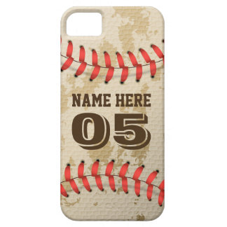 Clear Cool Vintage Baseball iPhone 5 Covers