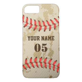 Clear Cool Vintage Baseball iPhone 8/7 Case