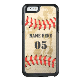Clear Cool Vintage Baseball OtterBox iPhone 6/6s Case