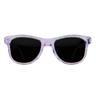 Clear Costume Premium Smoke Fractal Fashion Sunglasses