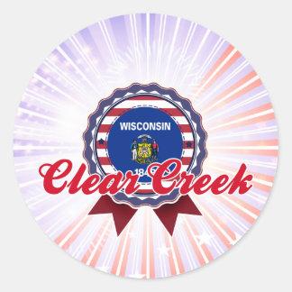 Clear Creek, WI Sticker