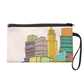 Clear Day Wristlet