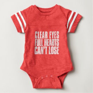 Clear Eyes, Full Hearts, Can't Lose Texas Football Baby Bodysuit