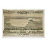 Clear Lake, CA. Panoramic Map (0289A)