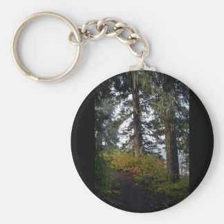 Clear Lake Hiking Trail Basic Round Button Key Ring