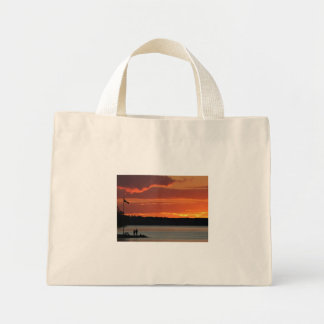 Clear Lake Sunset Tote Bag