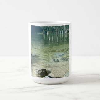 Clear Lake water Basic White Mug