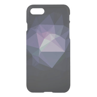 Clear low poly geometric triangles hipster crystal iPhone 7 case