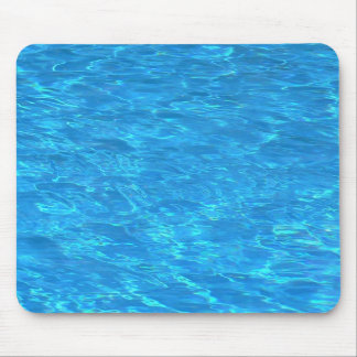 Clear pool water surface mouse mat