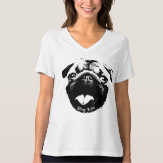 Clear & Simple Pug Life Smile T-Shirt