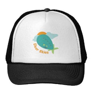 Clear Skies Trucker Hats
