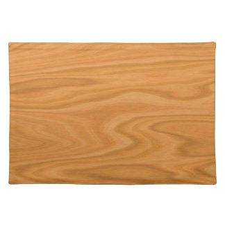Clear wood placemat