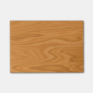 Clear wood post-it® notes