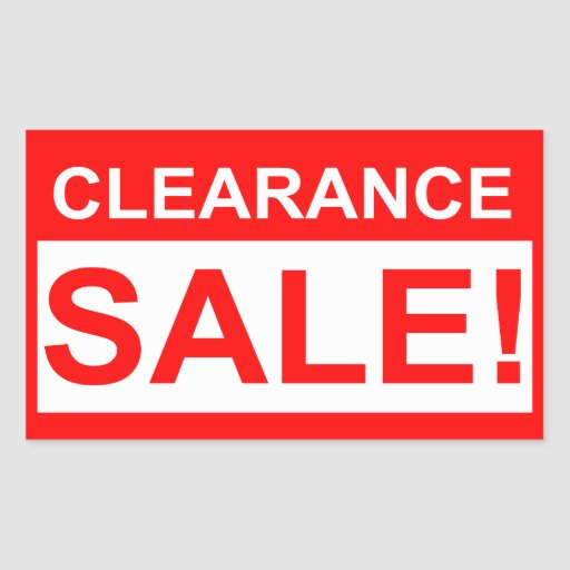 photograph about Printable for Sale Sign named Clearance sale indicators printable / Print Retail store Offers