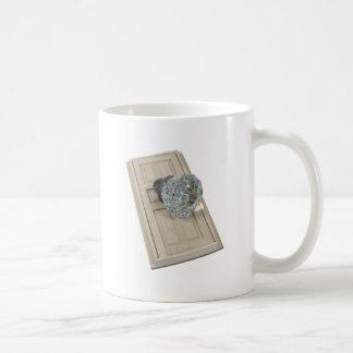ClearCrystalKnobDoor021411 Basic White Mug