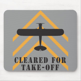 Cleared For Take Off Mouse Mat