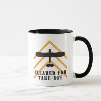 Cleared For Take Off Mug