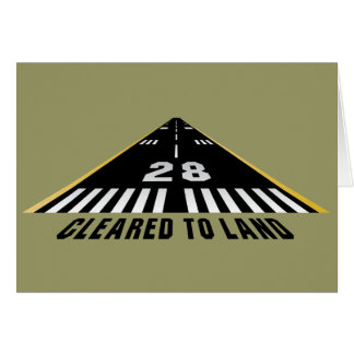 Cleared To Land Runway Cards